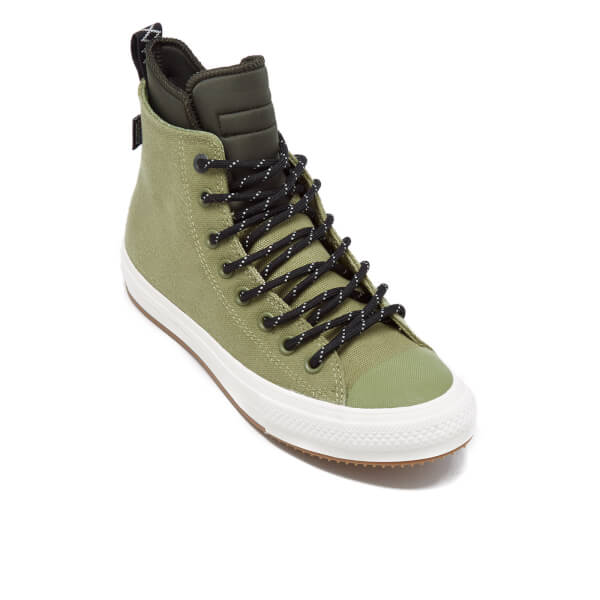 Converse Men s Chuck Taylor All Star II Shield Canvas Hi-Top Trainers -  Fatigue Green 1b26da3a7