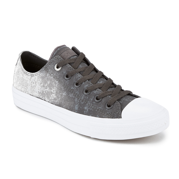converse chuck ii reflective wash low top