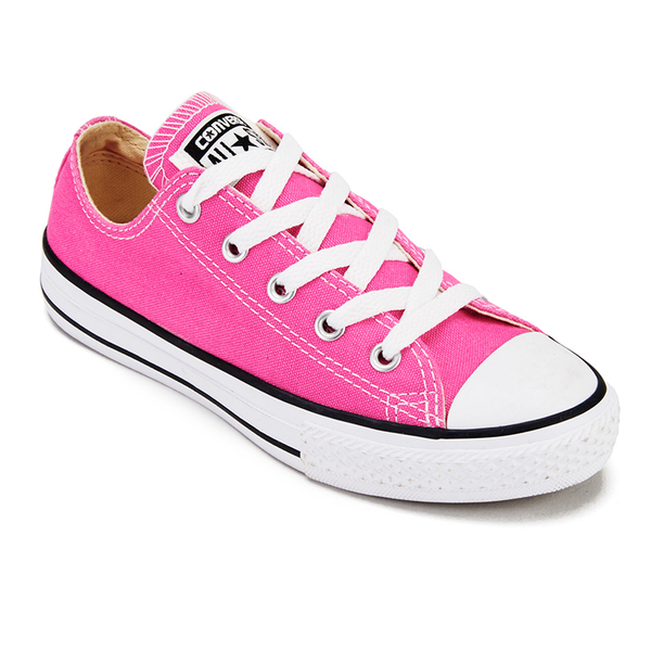 3d404b5f10ee Converse Kids  Chuck Taylor All Star Hi-Top Trainers - Mod Pink  Image