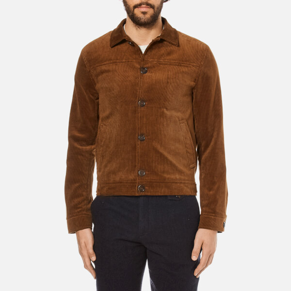 Oliver Spencer Men's Buffalo Jacket - Cord Ginger