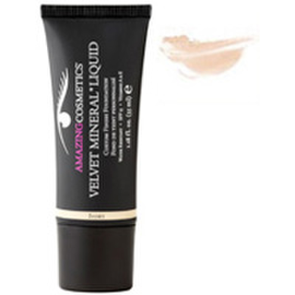Amazing Cosmetics Velvet Mineral Liquid Custom Finish Foundation - Fair