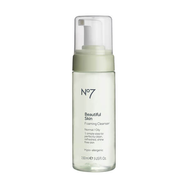 Boots No.7 Beautiful Skin Foaming Cleanser - Normal to Oily