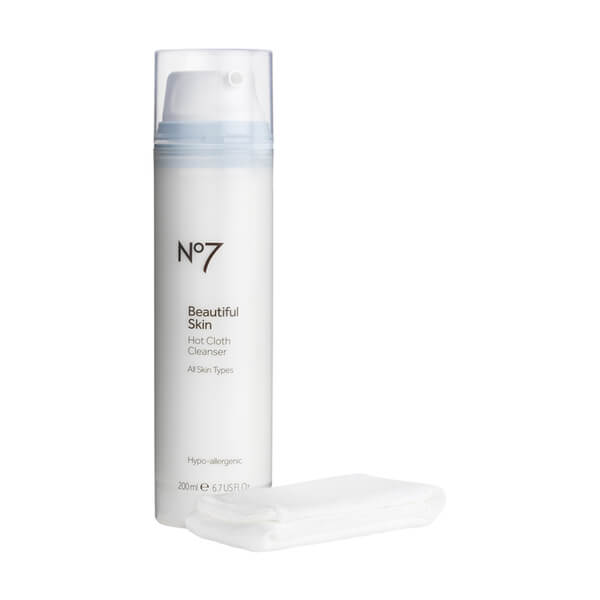 Boots No.7 Beautiful Skin Hot Cloth Cleanser