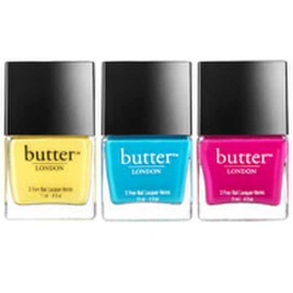 butter LONDON Pop Art Nail Lacquer Trio
