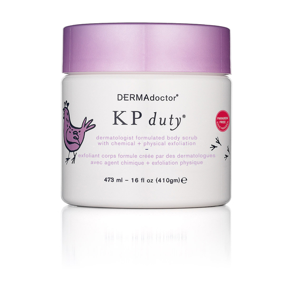 DERMAdoctor KP Duty Body Scrub with Chemical and Physical Exfoliation