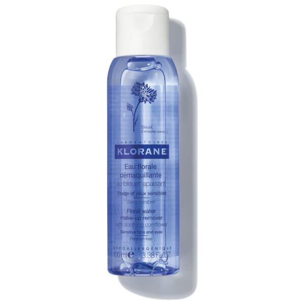 KLORANE Floral Water Make-Up Remover with Soothing Cornflower 3.4oz