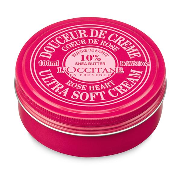 L'Occitane Shea Butter Ultra Soft Cream - Rose Heart