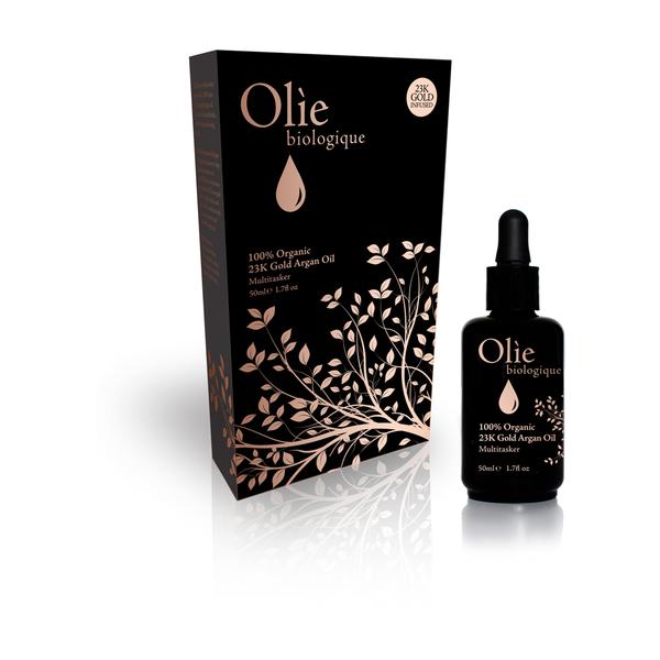 Olie Biologique 100 Percent Organic 23k Gold Argan Oil