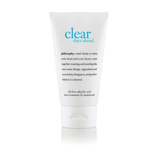 Philosophy Clear Days Ahead Oil-Free Salicylic Acid Acne Treatment Moisturizer