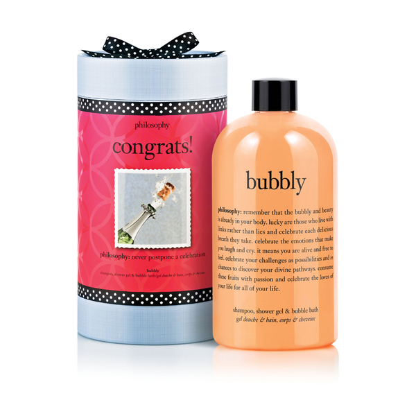 Philosophy Congrats Bubbly Shampoo, Shower Gel and Bubble Bath
