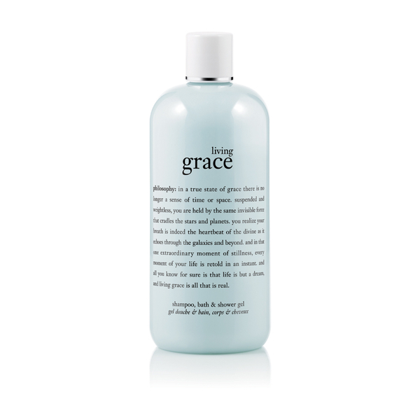 philosophy living grace shampoo shower gel and bubble philosophy 16 ounce vanilla birthday cake shampoo shower