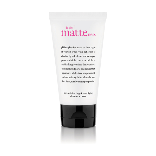 Philosophy Total Matteness Pore-Minimizing and Mattifying Cleanser Plus Mask