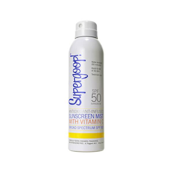 Supergoop! SPF 50 Antioxidant-Infused Sunscreen Mist with Vitamin C