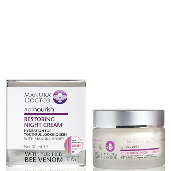 Manuka Doctor ApiNourish Restoring Night Cream 50ml