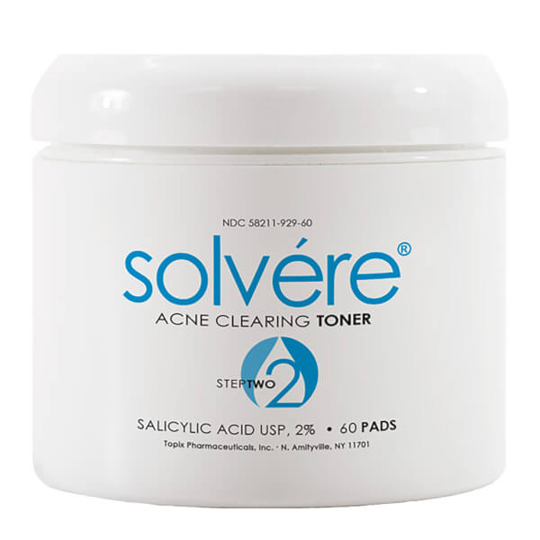 Topix Solvere Acne Clearing Toner Pads