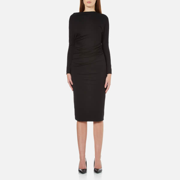 Vivienne Westwood Anglomania Women's Thigh Fitted Dress - Black
