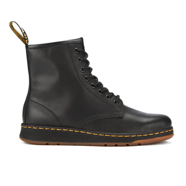 Dr. Martens Men's Lite Newton 8-Eye Boots - Black