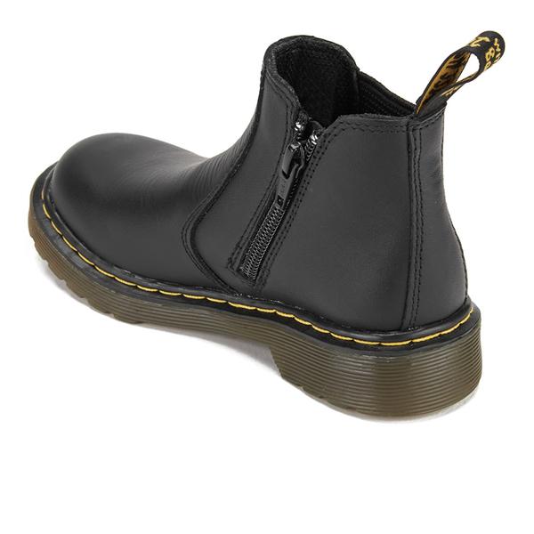 Dr. Martens Kids  2976 J Softy T Leather Chelsea Boots - Black  Image 15cef7fcb7