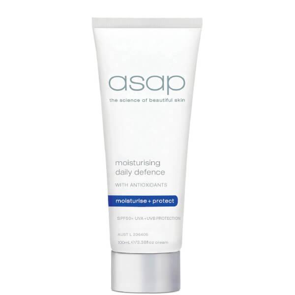 asap moisturising daily defence SPF50+ 100ml