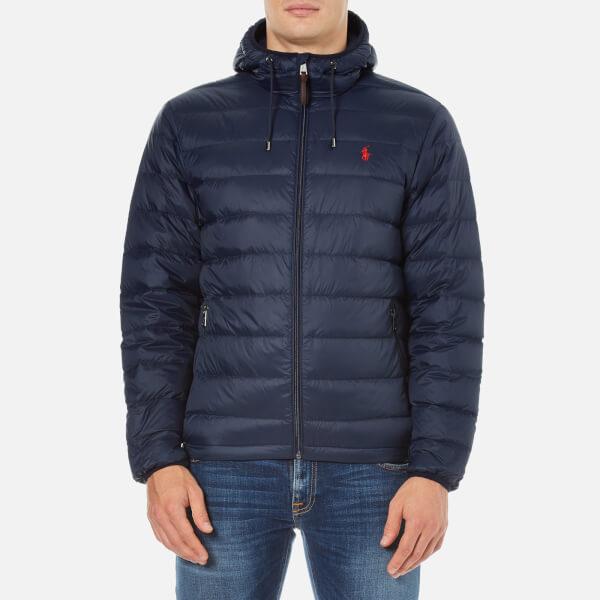 Polo Ralph Lauren Men's Core Nylon Packable Down Jacket - Aviator Navy