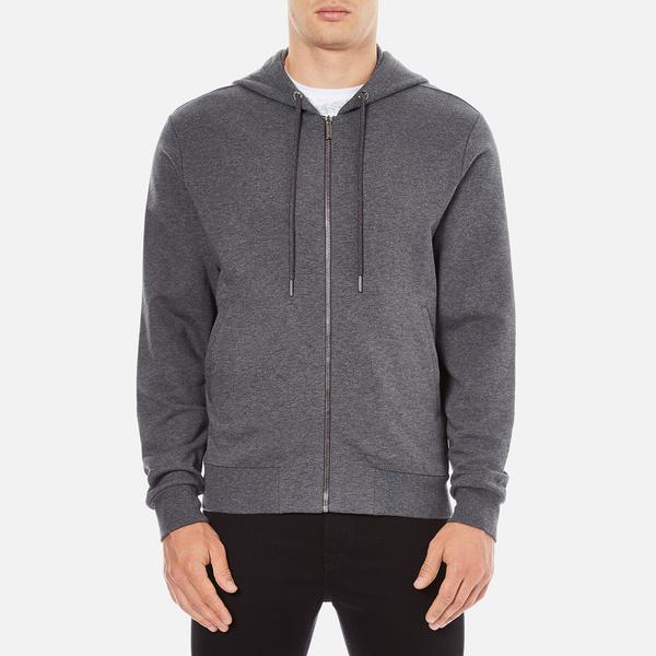 Versace Collection Men's Zipped Tracksuit Jacket - Grigio