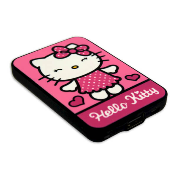 Batterie Externe Taille Carte Bleue (5000mAh) - Hello Kitty