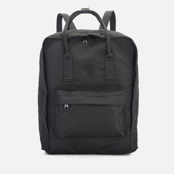 Fjallraven Re-Kanken Backpack - Black