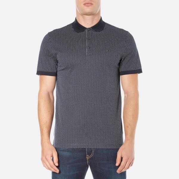 Michael Kors Men's Dot Diamond Print Polo Shirt - Midnight