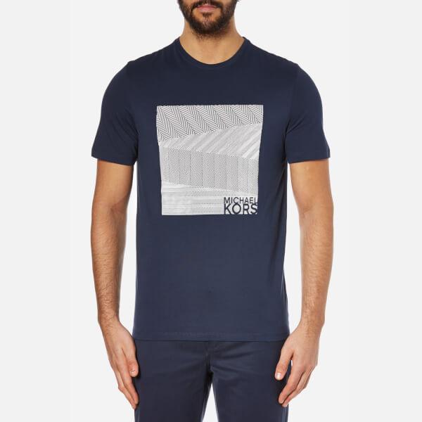 Michael Kors Men's Herringbone Graphic T-Shirt - Midnight