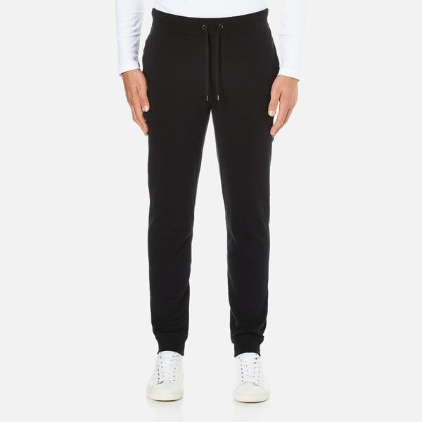 Michael Kors Men's Stretch Fleece Cuffed Sweatpants - Black