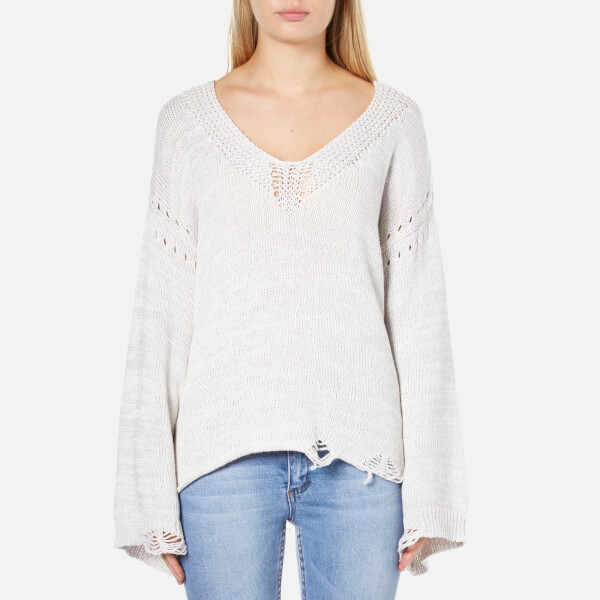 Wildfox Women's Blair Jumper - Flecked White