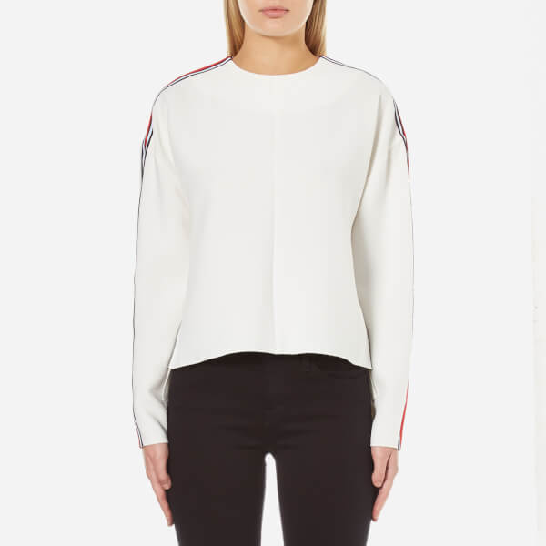 C/MEO COLLECTIVE Women's A Better Tomorrow Long Sleeve Top - White