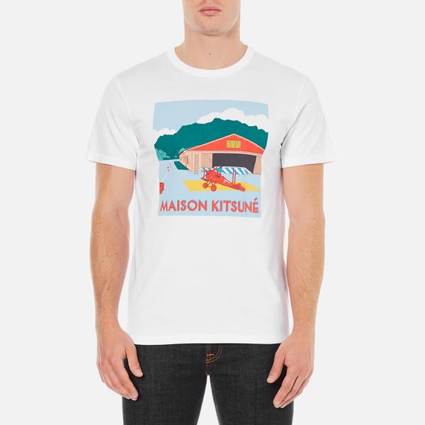 Maison Kitsuné Men's Hangar T-Shirt - Optical