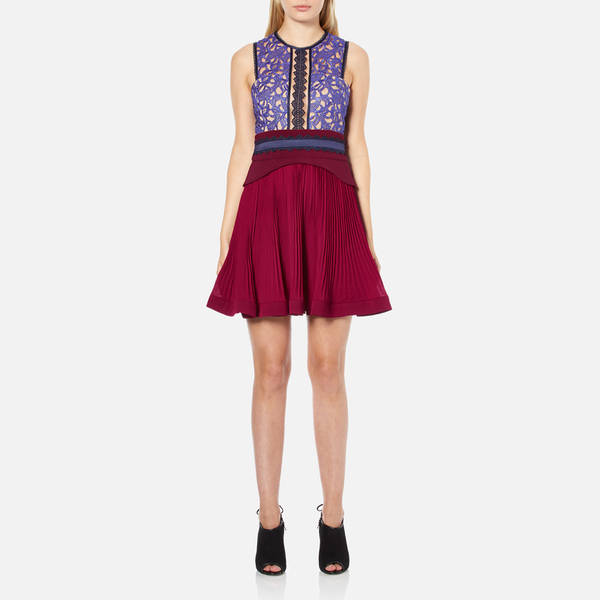 Three Floor Women's Crème de Cassis Dress - Bordeaux/Plum/Midnight Blue