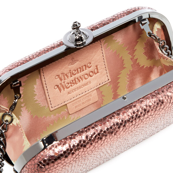 cb34388aa Vivienne Westwood Women's Verona Medium Clutch Bag - Pink: Image 5