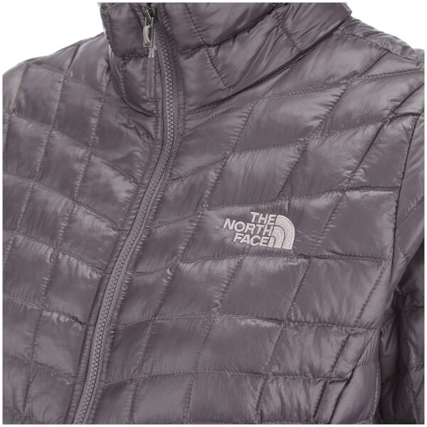 The North Face Women s ThermoBall™ Full Zip Jacket - Rabbit Grey  Image 3 c38066196