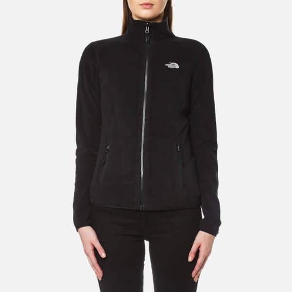 The North Face Women s 100 Glacier Full Zip Fleece - TNF Black  Image 1 53f4e4f686