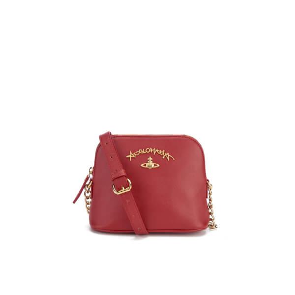 Vivienne Westwood Women's Divina Cross Body Bag - Bordeaux