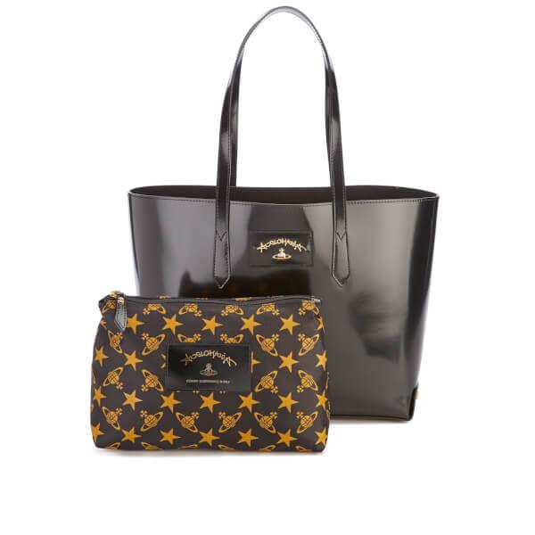 Vivienne Westwood Women's Newcastle Stud Tote Bag - Black