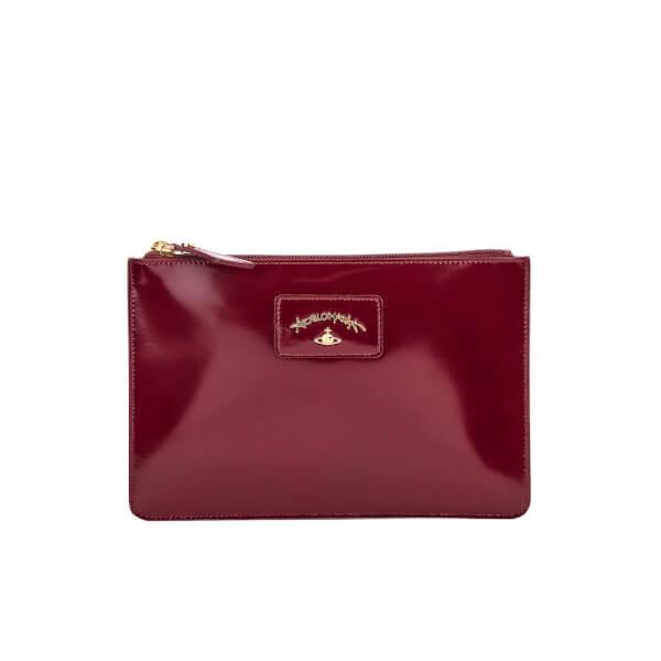 Vivienne Westwood Women's Newcastle Clutch Bag - Bordeaux