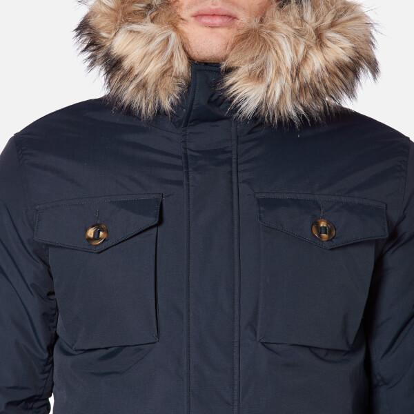 Men's everest fleece lined hooded coat