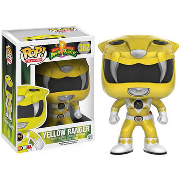 Mighty Morphin Power Rangers Yellow Ranger Pop! Vinyl Figure