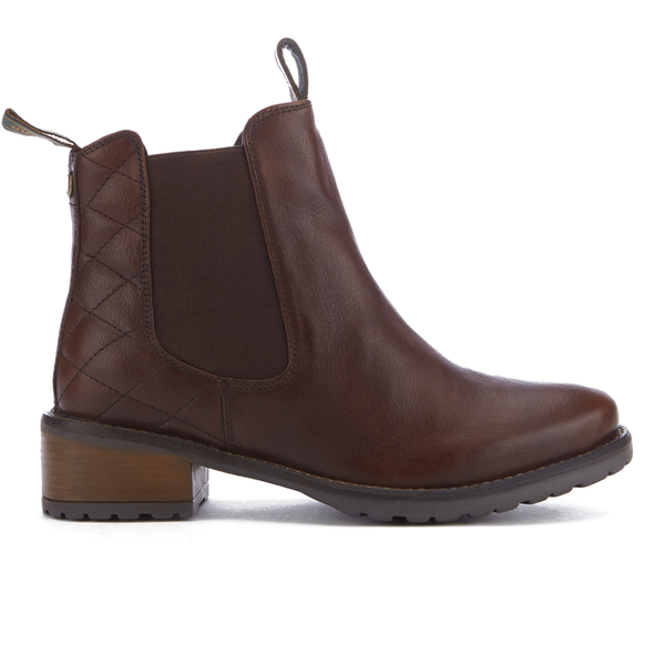 Barbour Women's Latimer Leather Chelsea Boots - Chestnut
