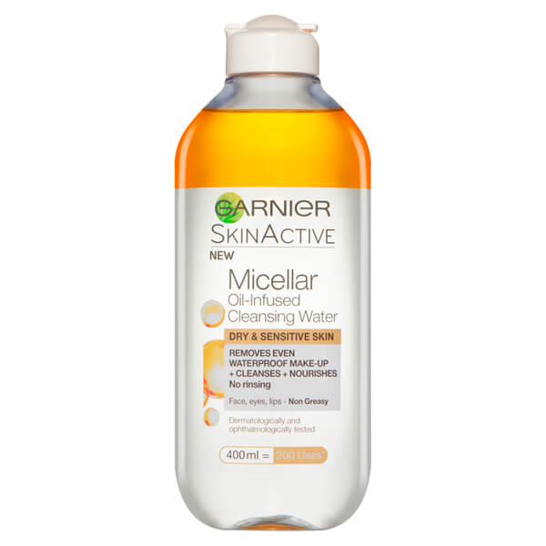 does garnier micellar water remove waterproof mascara