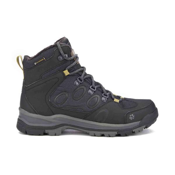 Jack Wolfskin Men's Cold Terrain Texapore Mid Walking Boots - Black: Image 1
