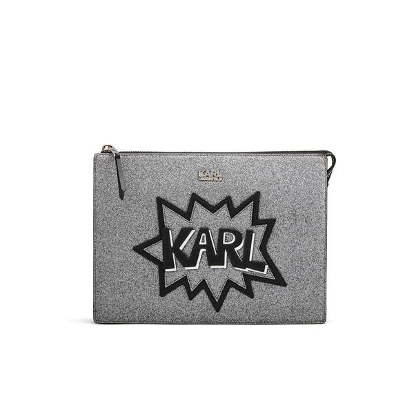 Karl Lagerfeld Women's K/Pop Pouch - Black