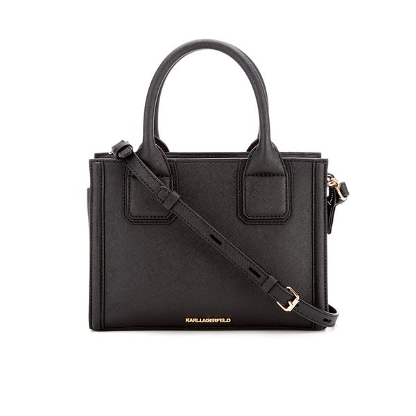 Karl Lagerfeld Women's K/Klassik Mini Tote Bag - Black