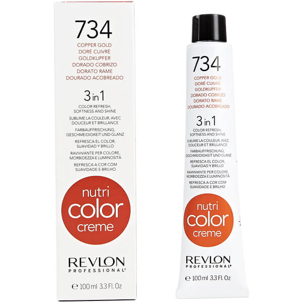 Nutri Color Creme 734 Cobre Dorado de Revlon Professional 100 ml
