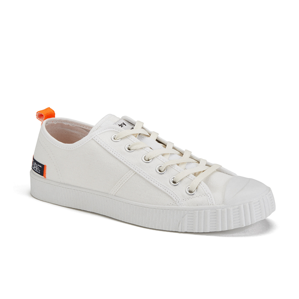 OFF-WHITE Patent Leather Low Trainers RbC3W