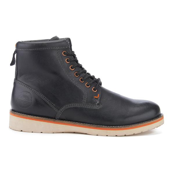 Superdry Men s Stirling Saddle Boots - Black Eclipse Herrenschuhe ... d76b75f196